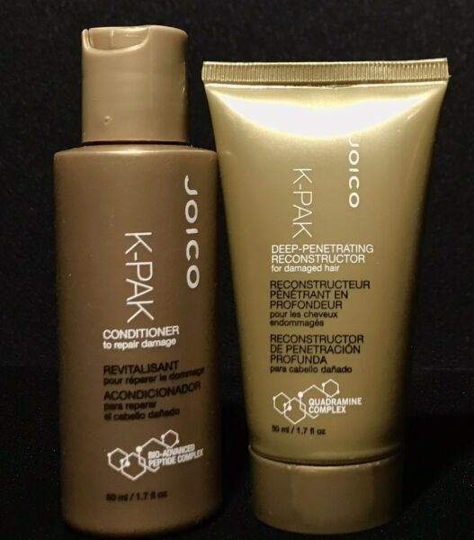 Joico K PACK Deep Penetrating Reconstructor amp; Conditioner Travel Size 1.7oz lot