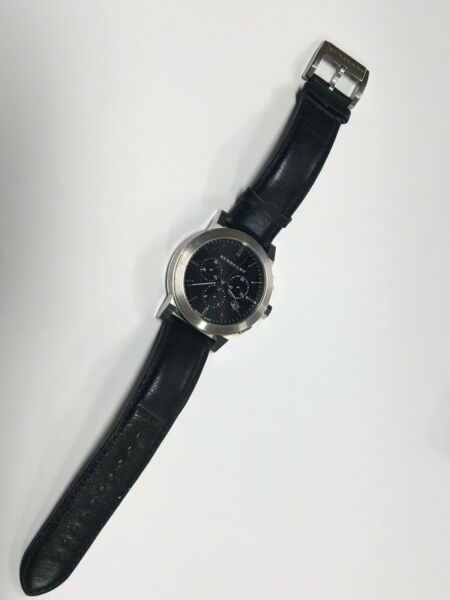 Burberry Heritage BU9356 Wrist Watch Leather Bands GS $199.99