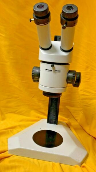 Wild Heerbrugg M3C with Simple Stand and 0.63x Lens $1497.00