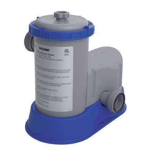 SALE OFF Bestway Flow Clear 1500 GPH Above Ground Swimming Pool Filter Pump $85.00