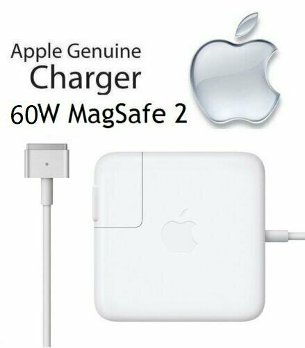 Brand New 60W MagSafe2 Power Adapter For MacBook Pro Retina Late 2012 mid 2016