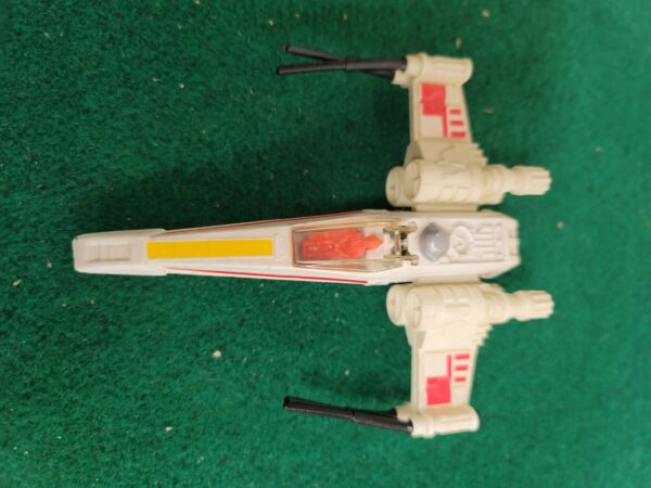 Vintage 1978 Kenner Star Wars DIE CAST X WING FIGHTER with canopy rare