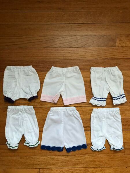 Pleasant Company American Girl Samantha Victorian Edwardian lacy white bloomers