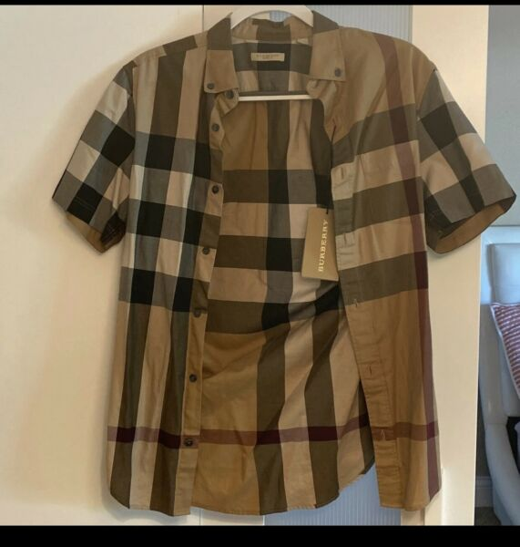 Burberry Shirt Men Xs With Tags $290.00