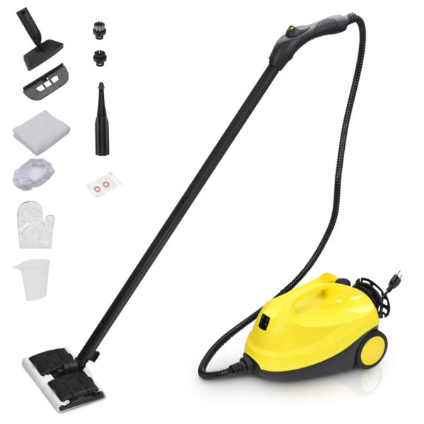 Steam Cleaner Heavy Duty Carpet Cleaner Mop Multi Purpose Cleaning Home 1500W