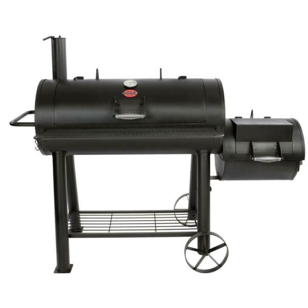 Char Griller Competition Pro Charcoal BBQ Grill 1012 sq. in. Offset Wood Smoker