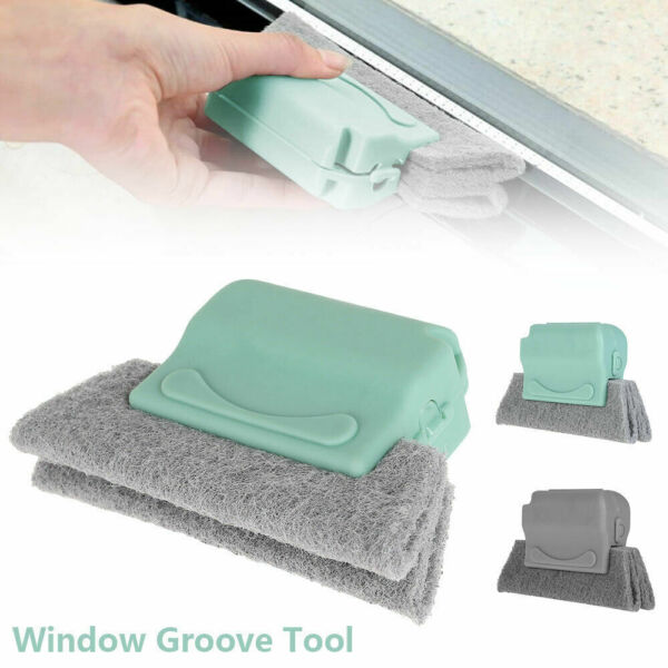 Creative Groove Cleaning Brush Magic Window Cleaning Brush Quickly Clean Corners
