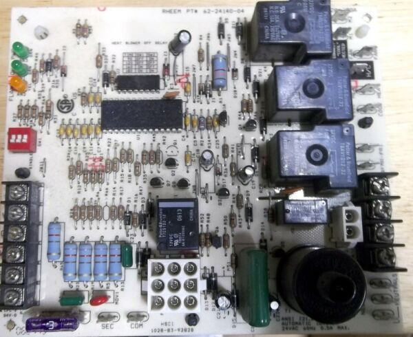 USED Furnace Control Board 62 24140 04 Model Number 1028 928A $59.00