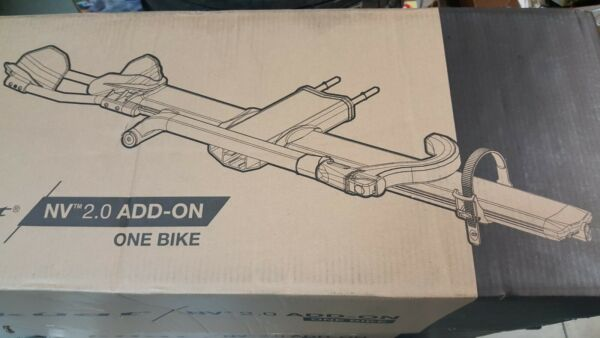 NEW Kuat NV 2.0 Add On 1 Single Bike Car Rack Carrier Extension Gray and Orange $339.00