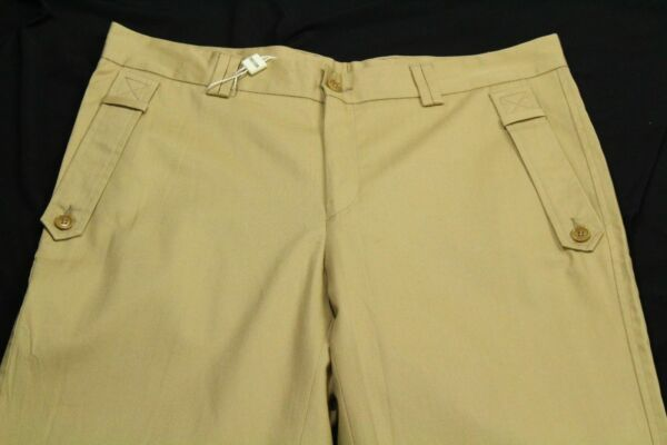Moschino Men#x27;s Khaki Pants Size 48 Made In Italy Size US 32 $39.99