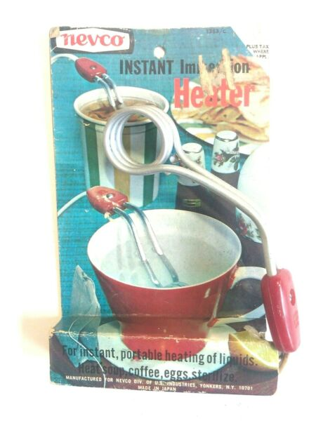 Vintage Nevco Instant Immersion Heater....A5 $8.75