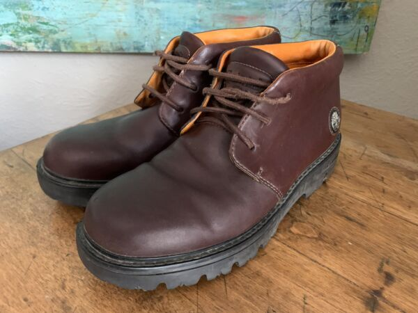 Timberland Hiking Trail Brown Leather Chukka Ankle Boot Mens Size 10.5M $48.80