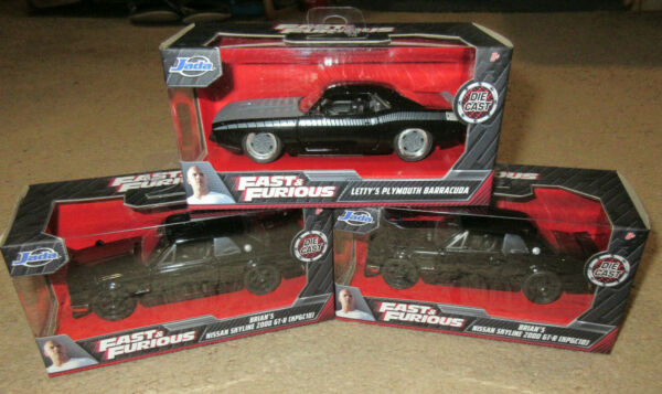 The Fast amp; The Furious Die Cast Car Variety