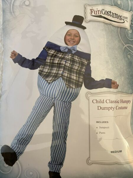 Humpty Dumpty Child Costume Size Medium