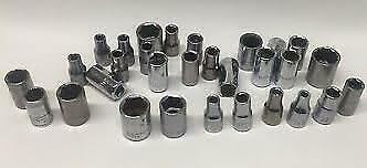 Used Craftsman Sockets 1 4quot; 3 8quot; 1 2quot; 3 4quot; Shallow Deep All Made in the USA