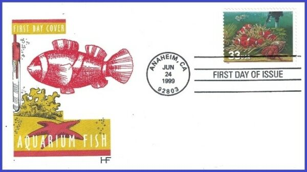 USA3 #3320 U A HOUSE OF FARNAM FDC Fish Heater $2.95