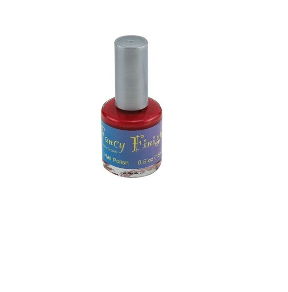 FANCY FINISHES Nail Polish Shimmer for Dog Fast drying long wearing Ruby $8.96
