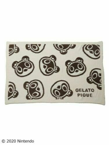 Gelato Pique Animal Crossing Collaboration Timmy Tommy White Blanket Japan $115.97