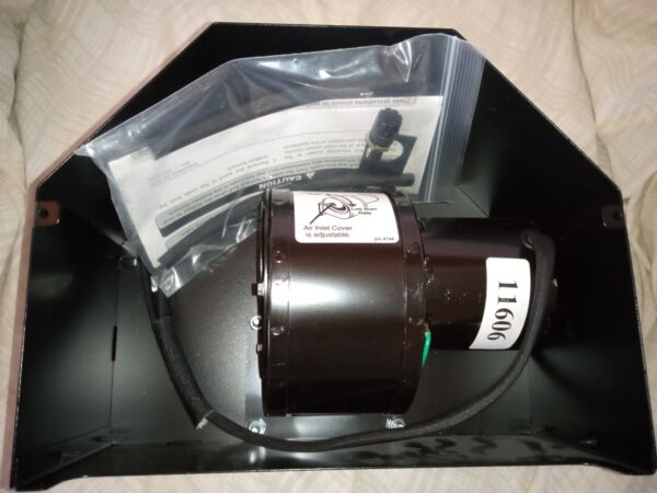 Central Boiler Draft Inducer Fan Kit for Classics w new Fabricated Steel Door $264.95