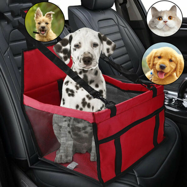 Folding Hammock Dog Protector Bed Car Front Seat Cover Pet Carriers Travel Mat $24.99