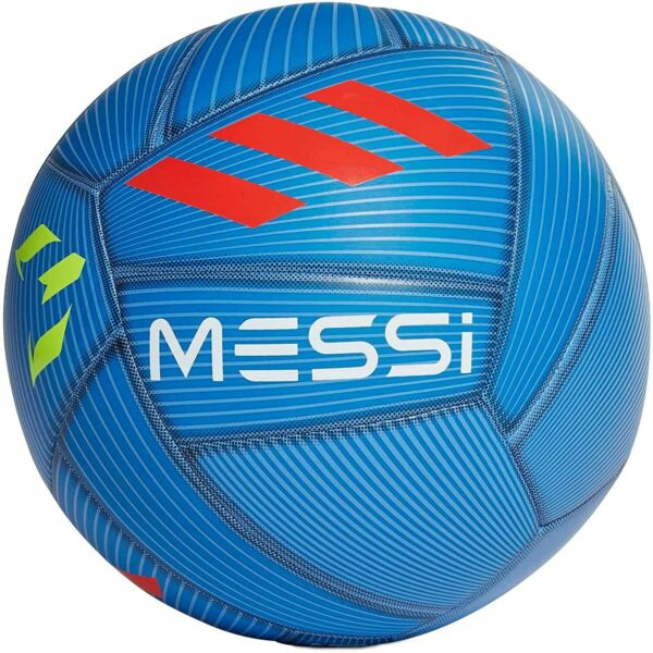 Adidas Messi Capitano Soccer Ball Size 5 Blue Solar Red Yellow