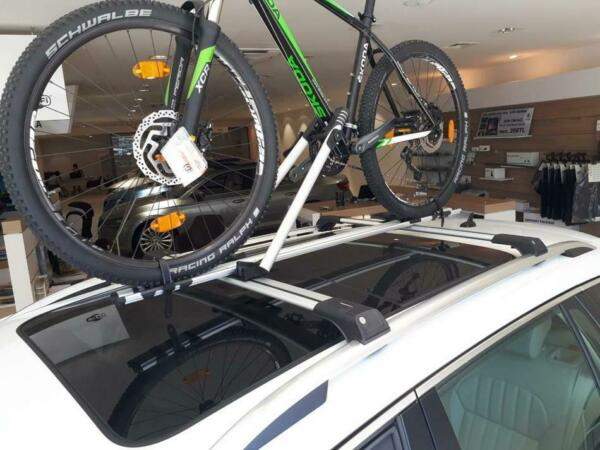 Fits For All Cars Mount Carrier Bicycle Rack Roof Mount Ceiling Top Bike Carrier $102.21