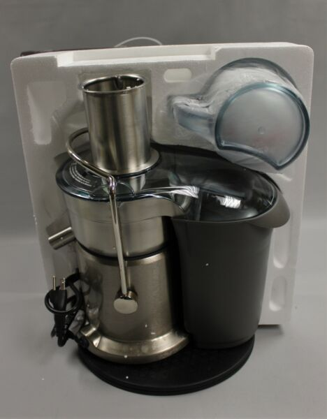 Breville Juice Fountain Elite Juicer 800JEXL Brushed Aluminum New