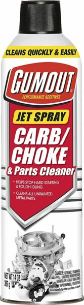 Gumout Carb And Choke Carburetor Cleaner 14 Oz. Cleans Metal Engine Parts Spray $4.69