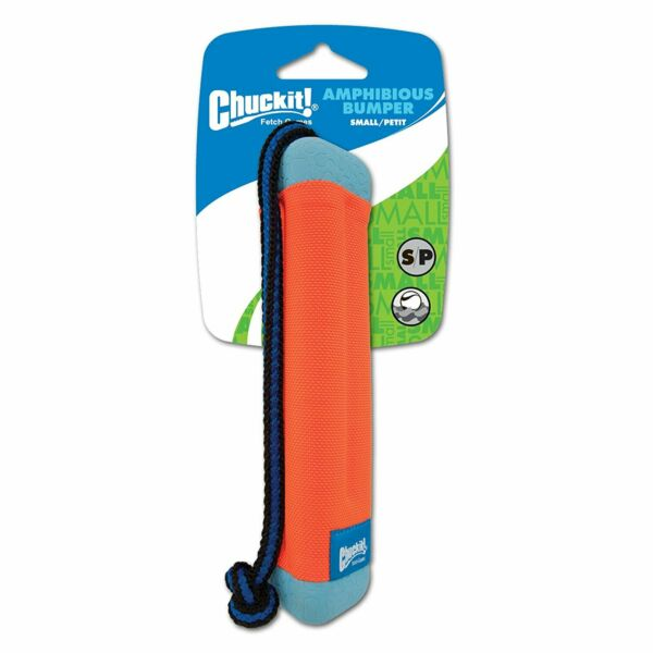 Chuckit Canine Hardware AMPHIBIOUS BUMPER Floating Dog Fetch Toy SMALL $10.00