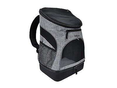 Bergan Pet Backpack and Carrier for Pets Up to 15 Pounds Gray and Black $73.99