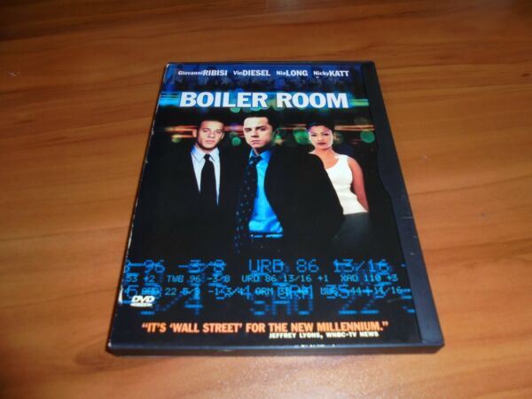 Boiler Room DVD Widescreen 2000 Vin Diesel $4.74