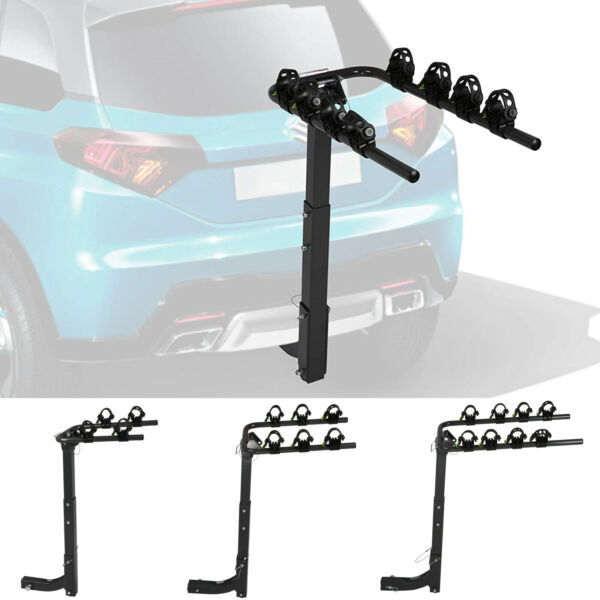 2 3 4 Bike Carrier Rack Car Truck SUV Swing Down Bicycle Holder 2quot; Hitch Mount $69.99