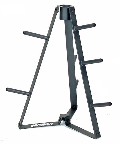 Marcy Plate Tree for Standard Size Weight Plates Storage Rack for Exercise PT 36