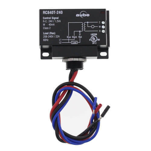 RC840T 240 Honeywell Aube 240v Electric Heat Relay with Built In 24V Transformer $31.50