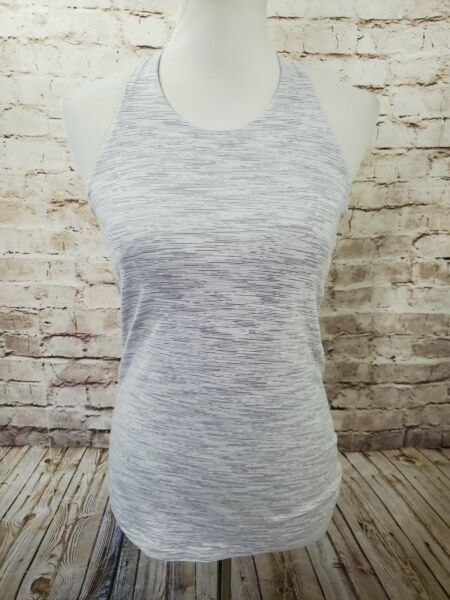 Lululemon Sweat Reps 2 In 1 Tank Wee Are From Space Nimbus Battleship Size 8 $27.29
