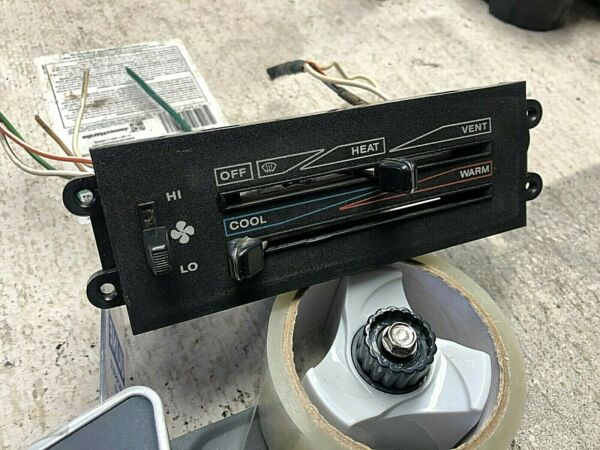 1987 1995 YJ Jeep Wrangler Heat HEATER CONTROL Temperature air vent dash $199.00