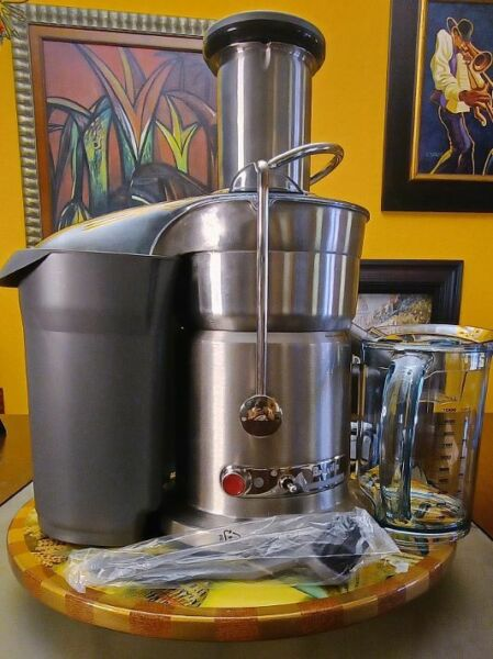 Breville Fountain Elite 1000W Electric Juicer 800JEXL Heavy Duty barely used