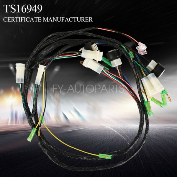 NEW For Yamaha Banshee wiring harness 2GU 51 COMPLETE REPLACEMENT 1987 94 $29.99