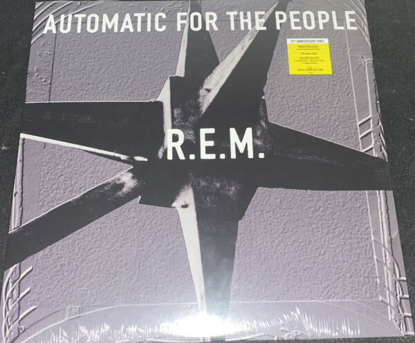 R.E.M. AUTOMATIC FOR THE PEOPLE AUDIOPHILE VINYL LP 25TH ANIV W DOWNLOAD $29.95