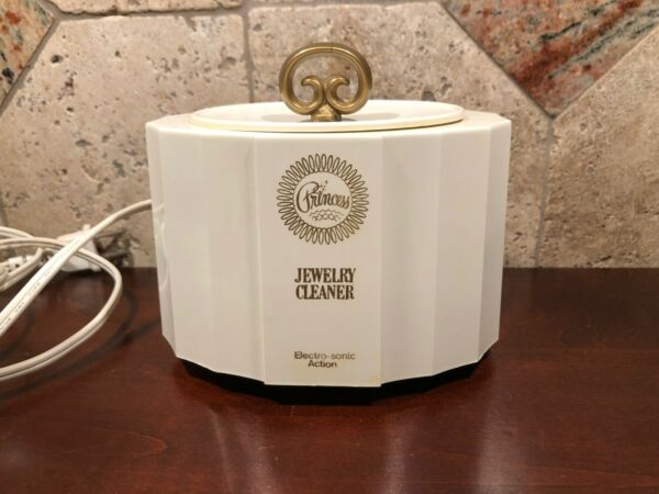 Vintage quot;Princessquot; Electric Jewelry Cleaner with Electro Sonic Action Model #303 $14.95