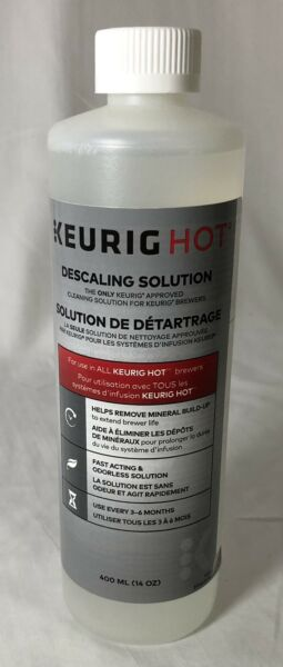 Keurig Hot Descaling Solution For Brewing Machines 14 oz. 400 mL