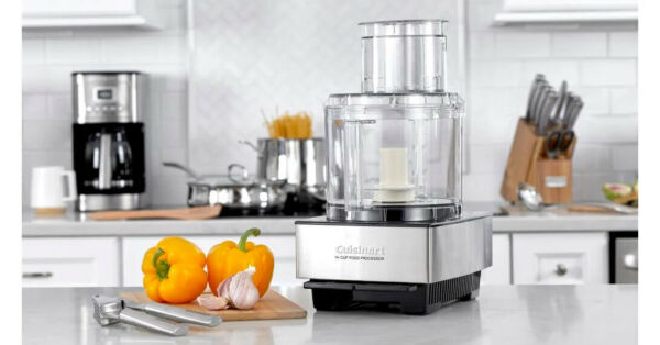 Cuisinart Custom 14 Cup Food Processor Brushed Stainless