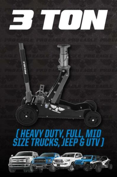 3 TON BIG WHEEL OFF ROAD JACK quot;KRATOSquot; $492.95