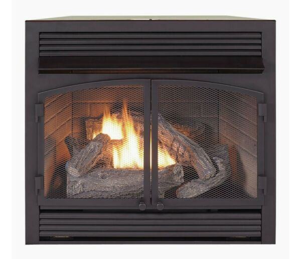 Duluth Forge Ventless Black Fireplace Insert Brand New