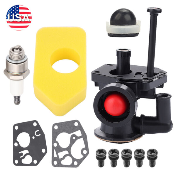 Carburetor Kit For Briggs Stratton 497619 498809 498809A 3 3.75 HP Engine $10.74