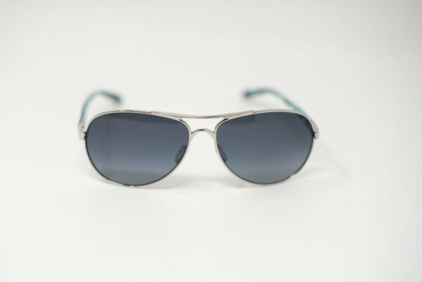Oakley FEEDBACK OO4079 07 Polished Chrome Dark Blue Light Gradient Polarized $99.95
