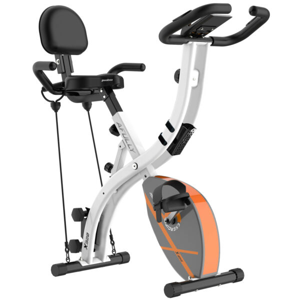 Folding Exercise Bike 3 in 1 Magnetic Upright Recumbent Home Indoor Cycling Bike $159.59