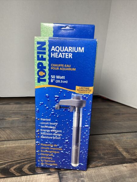 TOPFIN AQUARIUM HEATER 50WATT 8quot; LONG USA SELLER $7.00