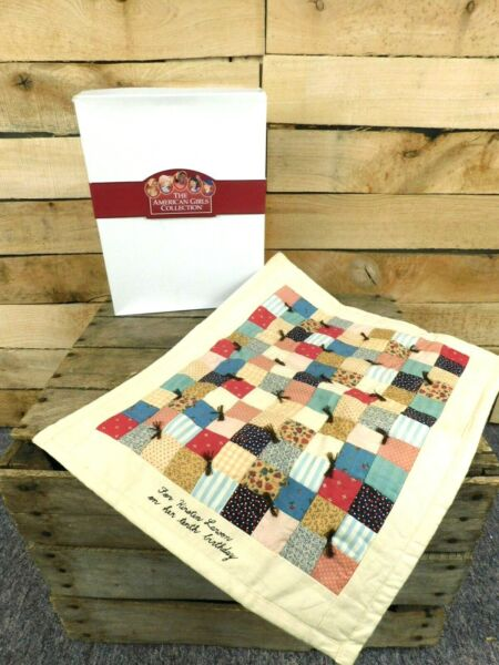 Retired American Girl Pleasant Company Kirsten Birthday Quilt NEW in Box