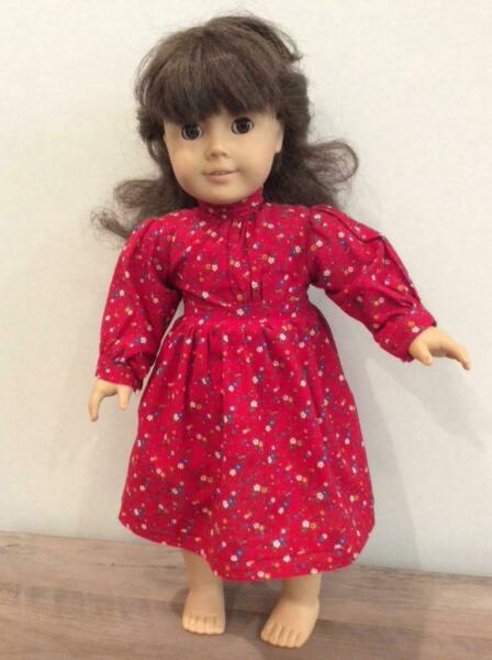 1990#x27;s Pleasant Company American Girl Doll Samantha Artist Mark 18quot;